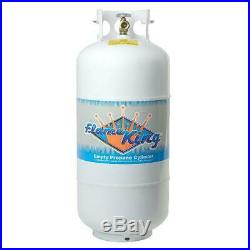 Propane Cylinder Tank 40 Lb. Power Grill Durable Powder Coat Paint OPD Valve NEW