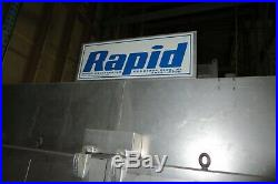 Rapid Powder Coat Coating Spray Booth and Paint Curing Oven