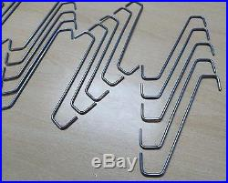 S Steel Wire Hooks Powder Coating Alloy Wheel Hang Painting Drying Hanging Sand
