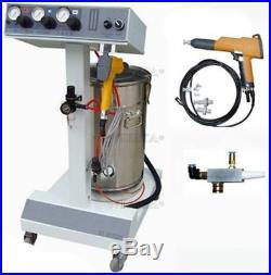 Spray Gun Electrostatic Spray Machine Powder Coating Paint System sw