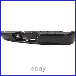 Step Bumper For 2005-2010 Dodge Dakota Fleetside Powdercoated Black Rear