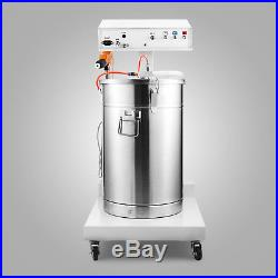 WY-101 POWDER COATING SYSTEM MACHINE With TANK PAINT SYSTEM MANUAL 550g/Min GREAT